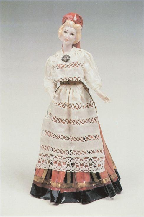 48b13884b13 1999. a. Tiraaž 1000. Trükikoda: Feiss Postkaart 10,5 x 15 cm. Nukk:  Pühalepa naine, kõrgus 26 cm. Valmistatud Floridas, Ameerika Ündriigid  1967-1991