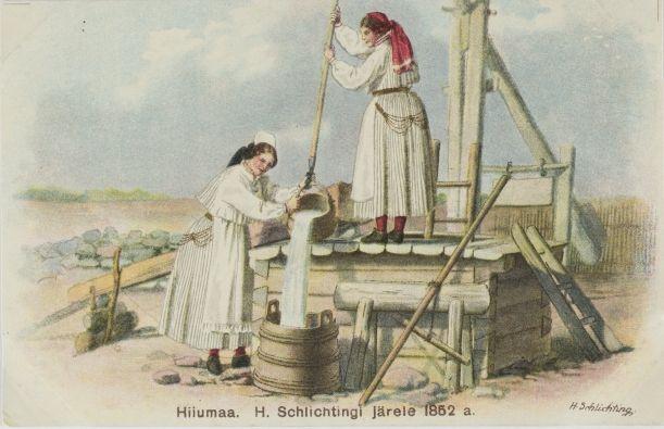 77cddeb8c19 Nr. 321: Hiiumaa H. Schlichtingi järele 1852.a.. ERM Pk 1:1/303; Digar  1927.a. Tiraaž 3000. Tallinna Eesti Kirjastus-Ühisuse trükikoda