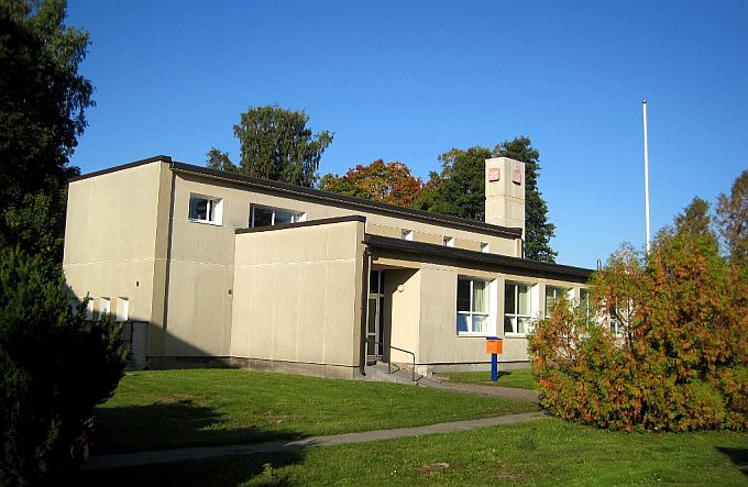 Kärdla postkontor 2017. aasta septembris. (Foto: Ivo Tarmisto)